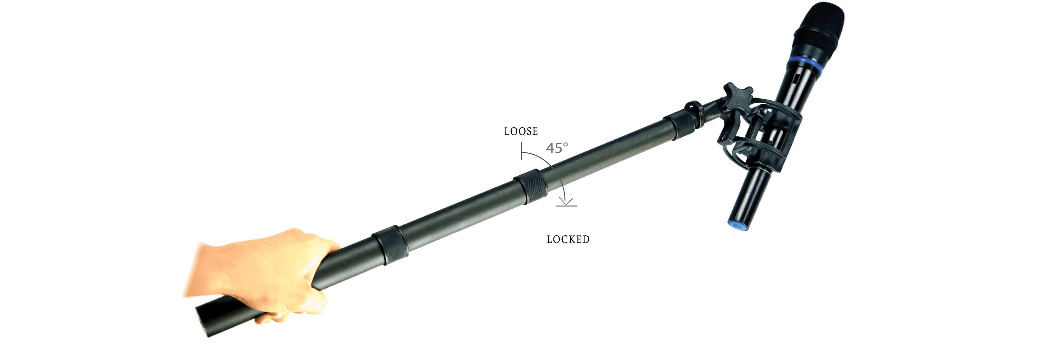VDB HAND-QT Boompole locking system overview